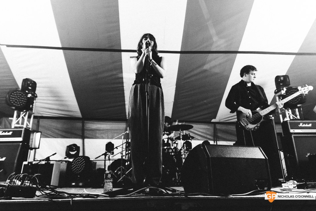 Just Musturd performing on the Dimestore stage at KnockanStockan 19. Photos by Nicholas O_Donnell. (5 of 6)