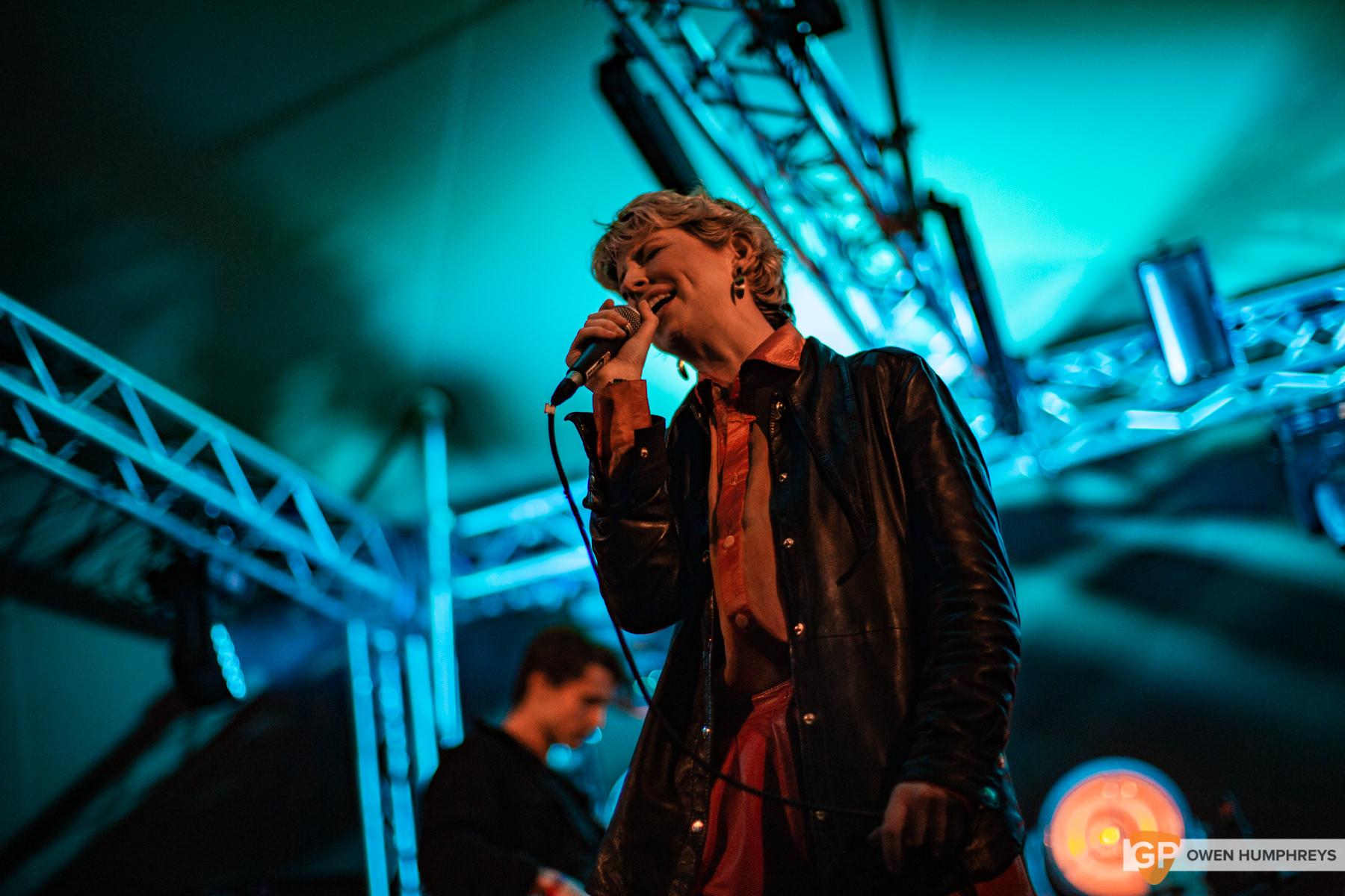 Soda Blonde at Knockanstockan 2019. Photo by Owen Humphreys. www.owen.ie