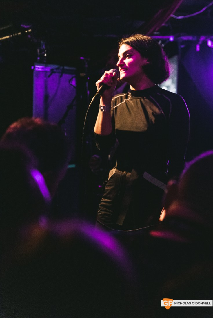 Mattiel performing in Whelan's. Photo by Nicholas O'Donnell.