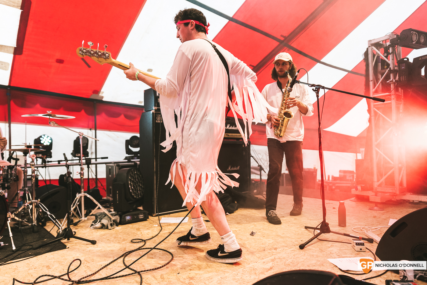 Tribal Dance perfroming on the Dimestore stage at KnockanStockan 19. Photos by Nicholas O_Donnell. (5 of 8)