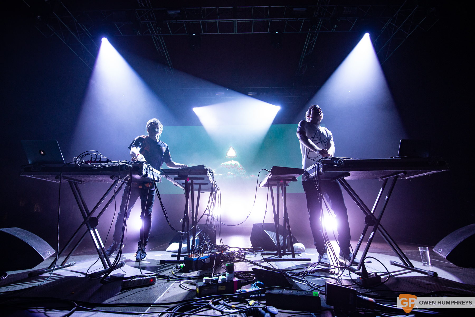 Kiasmos at All Together Now 2019. Photo by Owen Humphreys. www.owen.ie
