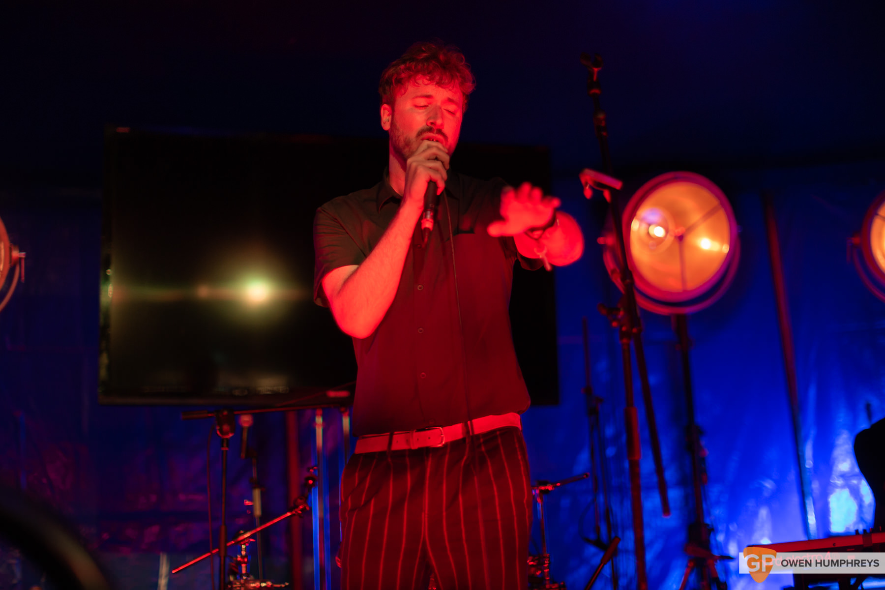Paddy Hannah at All Together Now 2019. Photo by Owen Humphreys. www.owen.ie