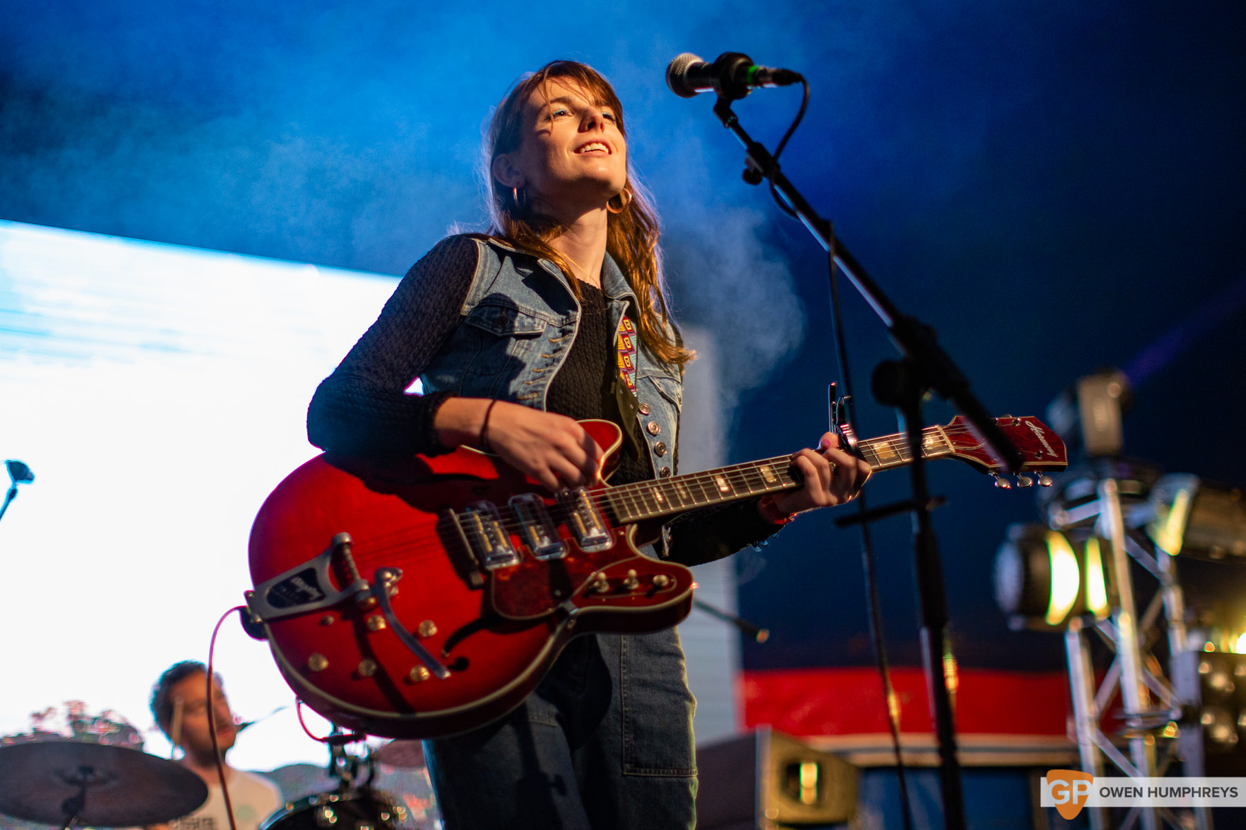 Angie Mcmahon at All Together Now 2019. Photo by Owen Humphreys. www.owen.ie
