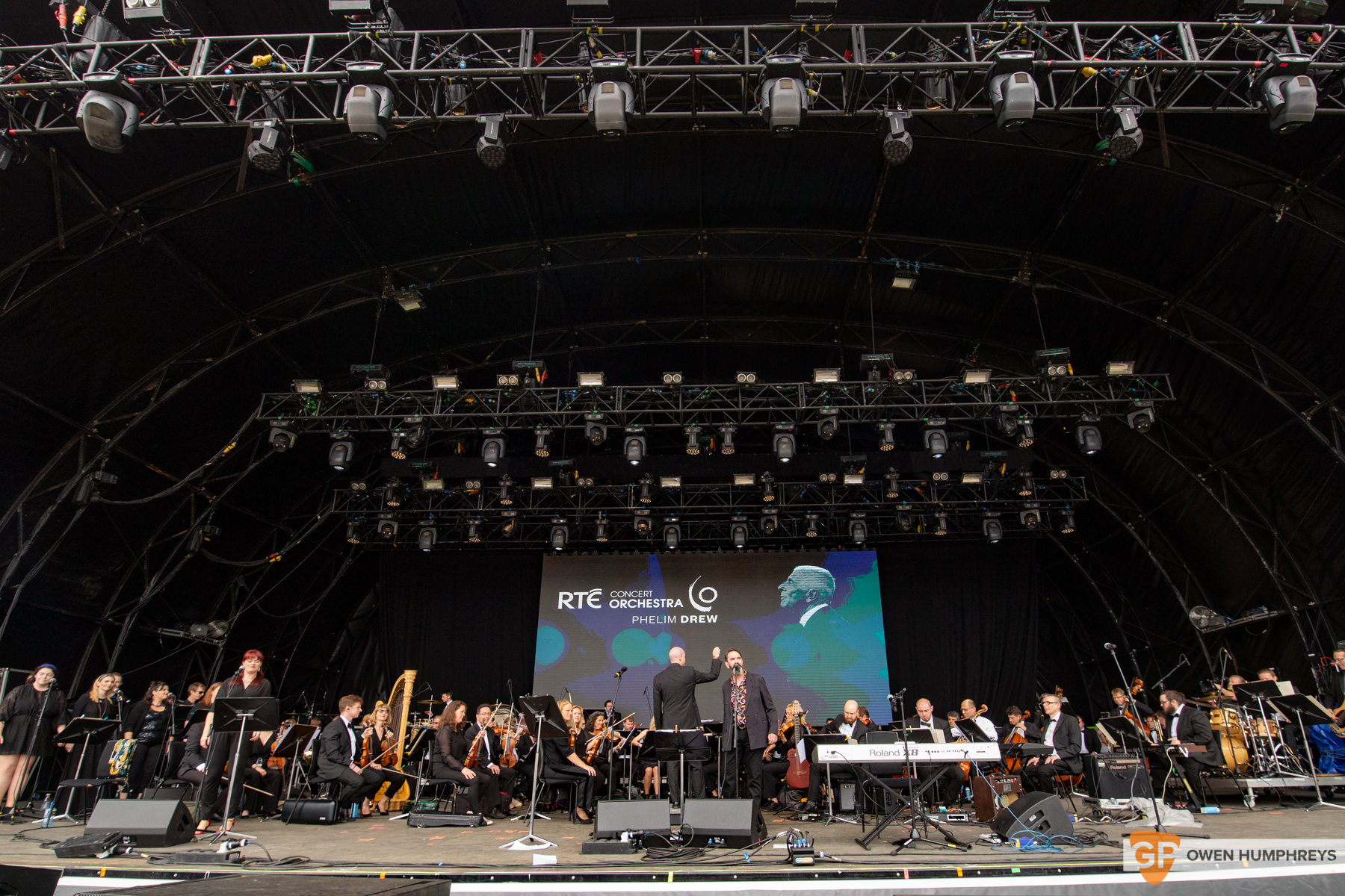 RTE Orchestra at All Together Now 2019. Photo by Owen Humphreys. www.owen.ie