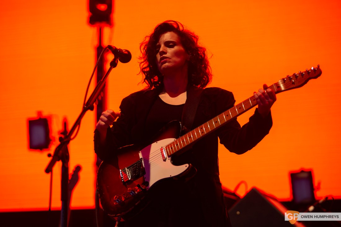Anna Calvi at All Together Now 2019. Photo by Owen Humphreys. www.owen.ie