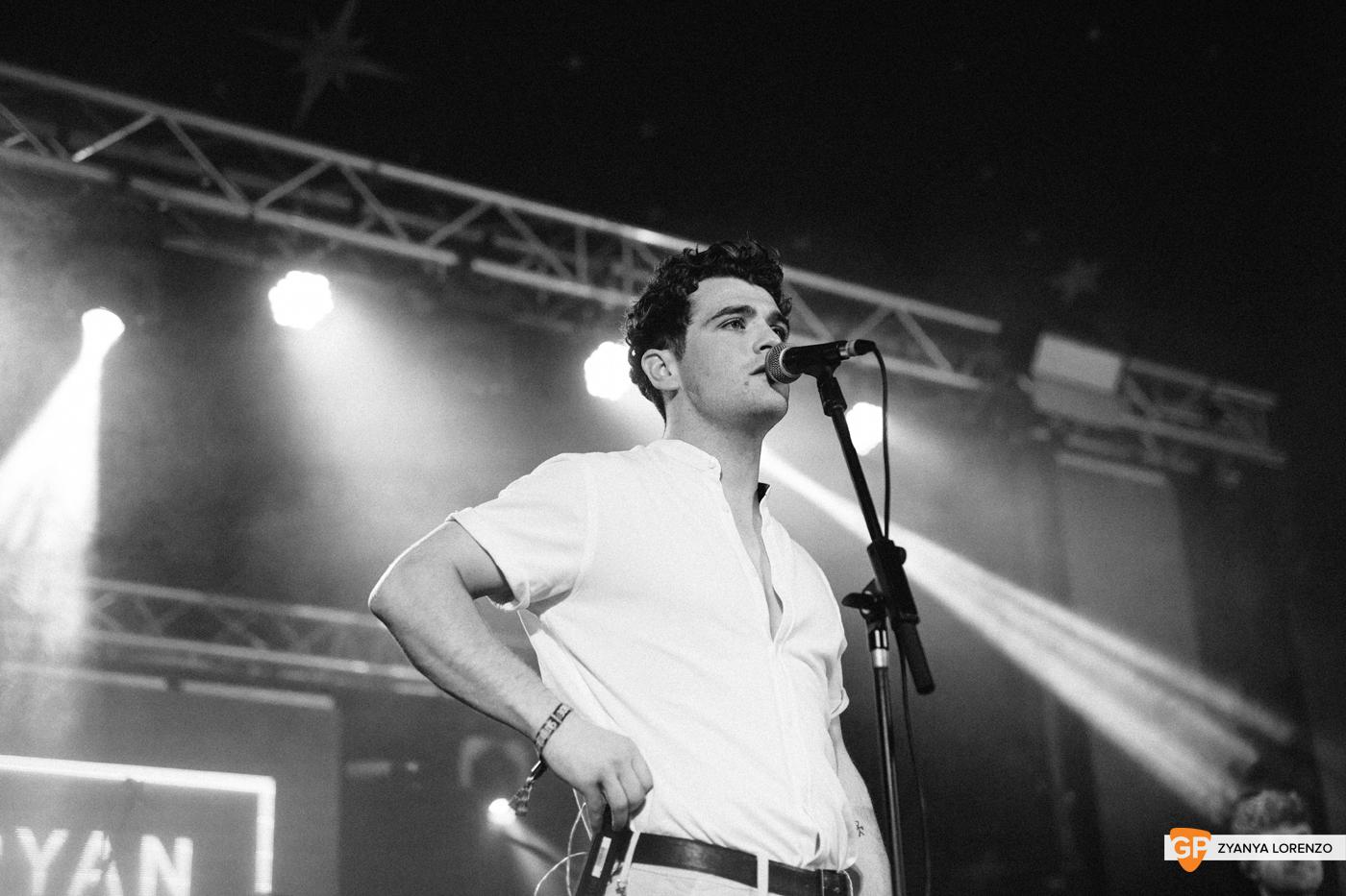 Ryan Mack live at Independence, Cork. Photographed by Zyanya Lorenzo.