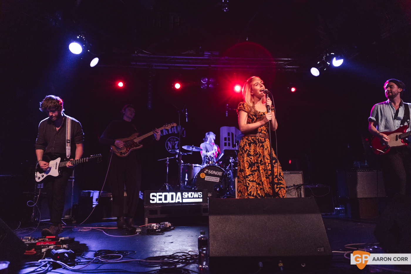 The Claque at Dolans Warehouse (10-08-19) by Aaron Corr-7922