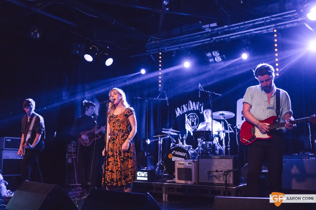 The Claque at Dolans Warehouse (10-08-19) by Aaron Corr-7992