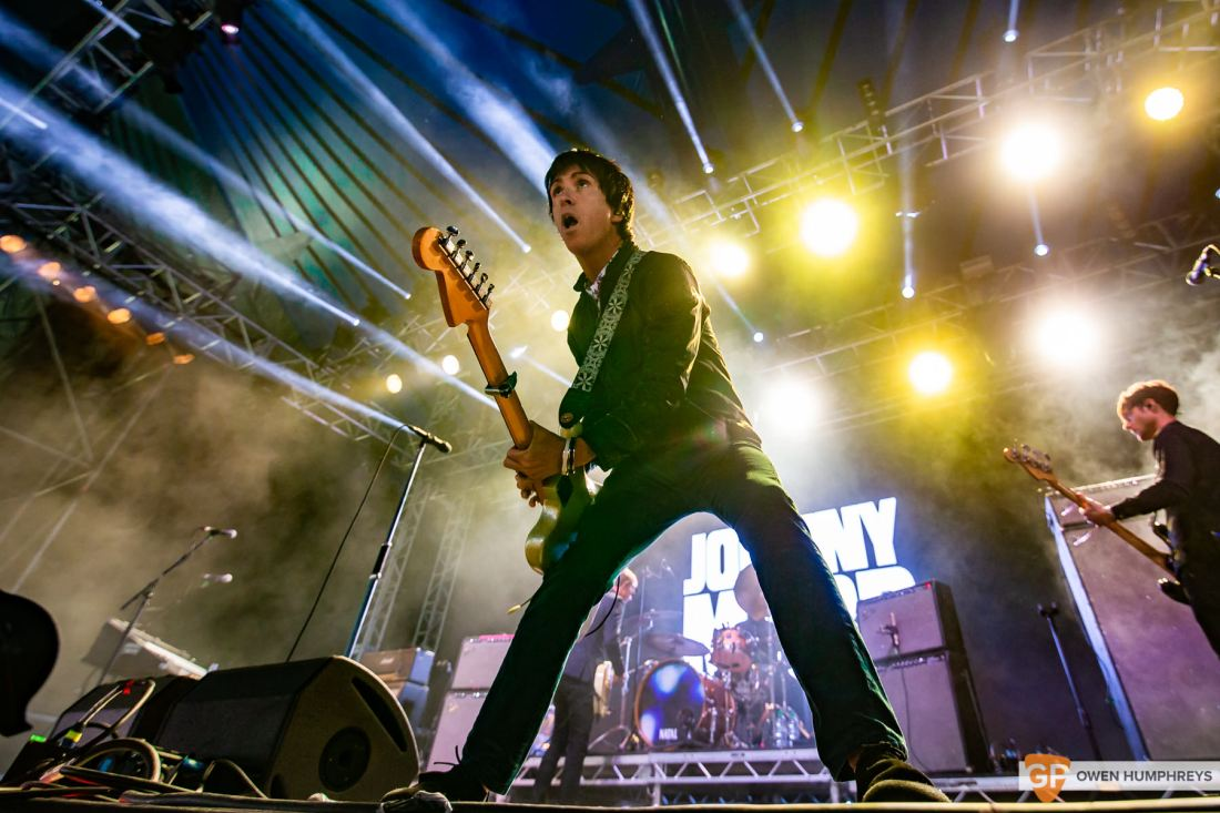 Johnny Marr at Electric Picnic 2019. Photo by Owen Humphreys. www.owen.ie