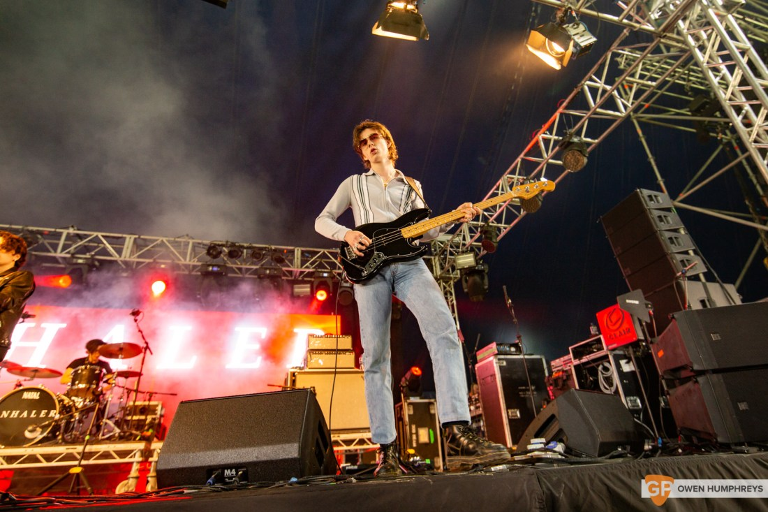 Inhaler at Electric Picnic 2019. Photo by Owen Humphreys. www.owen.ie