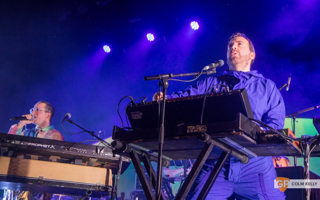 Hot Chip at The Olympia Theatre, Dublin 17.10.2019 Copyright Colm Kelly-13