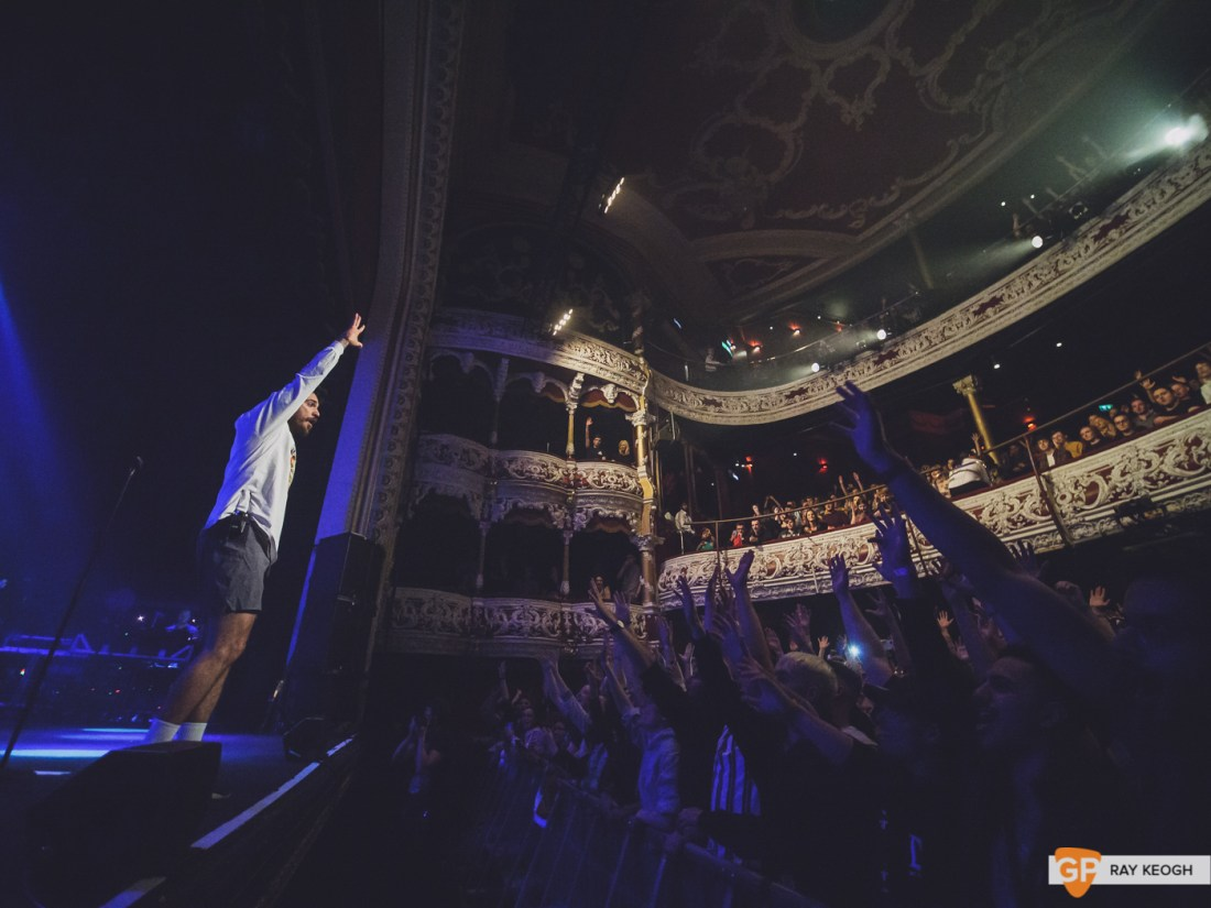 Jon bellion – The Olympia – Photo by Ray Keogh