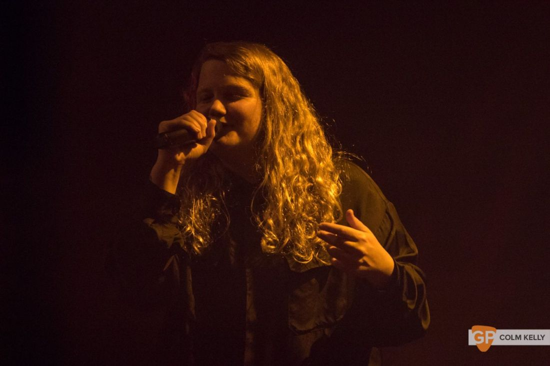 Kate Tempest at Vicar Street, Dublin 15.11.2019 Copyright Colm Kelly-6-17