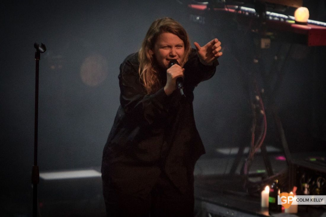 Kate Tempest at Vicar Street, Dublin 15.11.2019 Copyright Colm Kelly-7-3