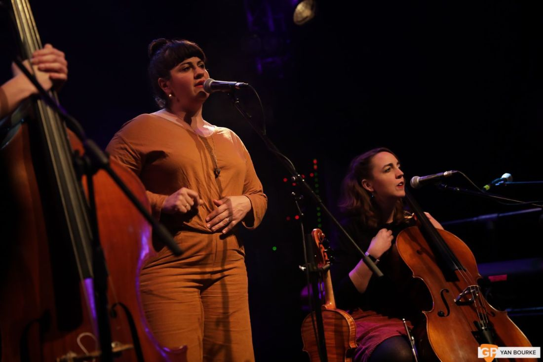 Laura Cortese and the Dance Cards at The Button Factory on 20 November 2019 by Yan Bourke-1