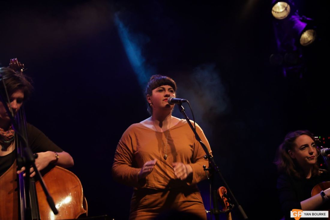 Laura Cortese and the Dance Cards at The Button Factory on 20 November 2019 by Yan Bourke-2