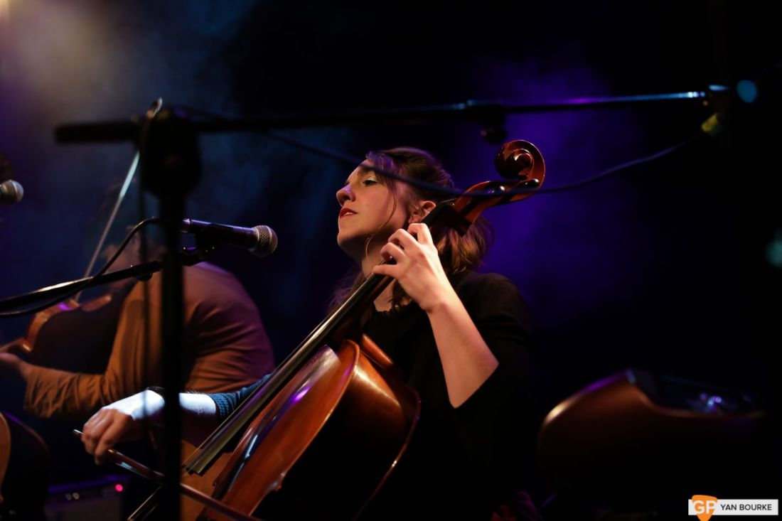 Laura Cortese and the Dance Cards at The Button Factory on 20 November 2019 by Yan Bourke-5