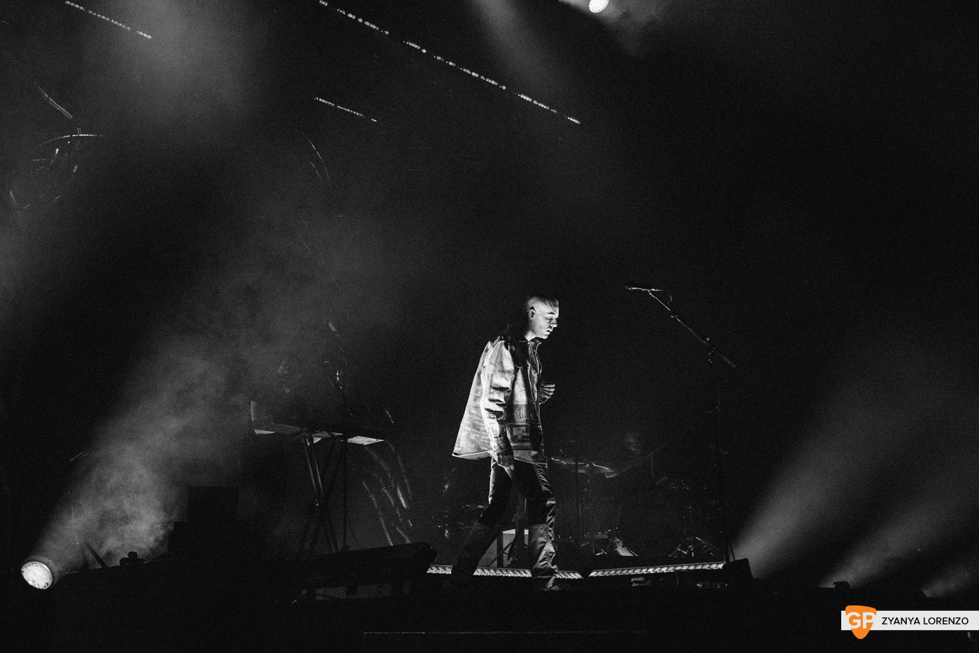 Dermot Kennedy live at the 3Arena, Dublin. Photographed by Zyanya Lorenzo.