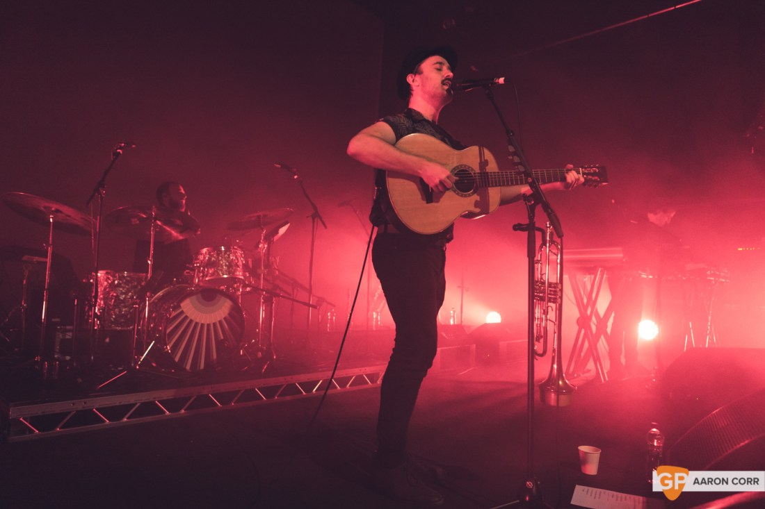 Villagers in Vicar Street, Dublin on 14-Dec-19 by Aaron Corr-0980