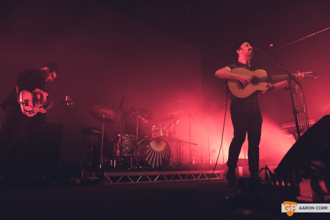 Villagers in Vicar Street, Dublin on 14-Dec-19 by Aaron Corr-0990