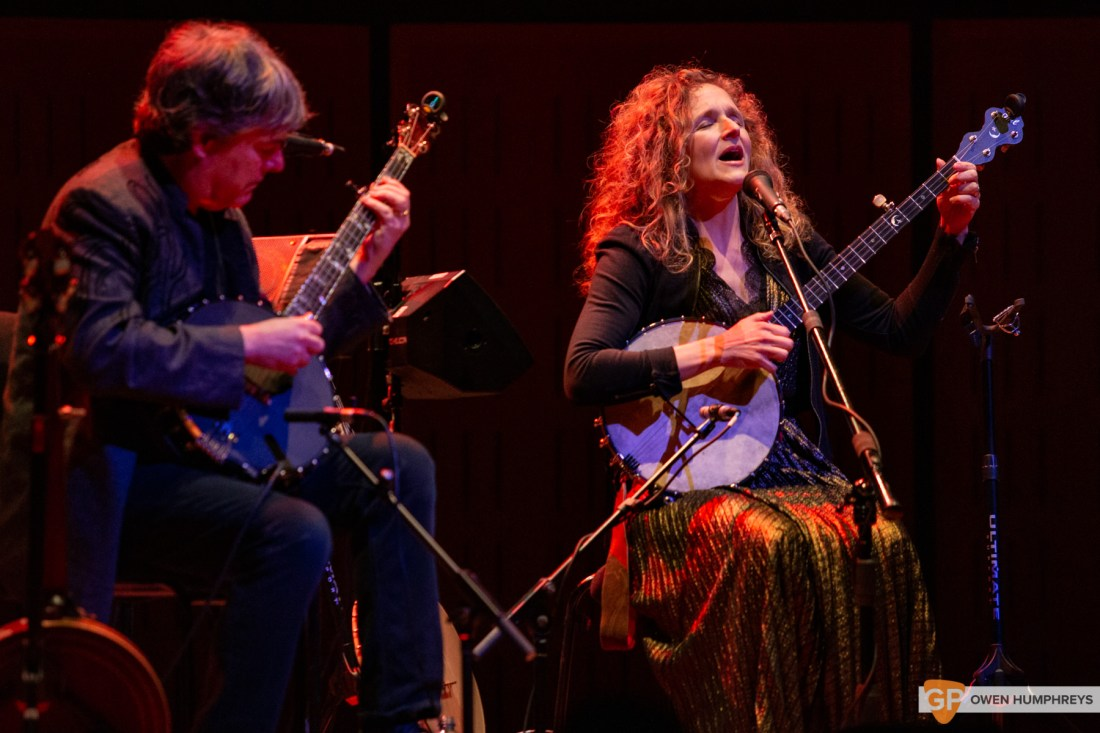Bela Fleck & Abigail Washburn at The National Concert Hall. Photo by Owen Humphreys. www.owen.ie-4