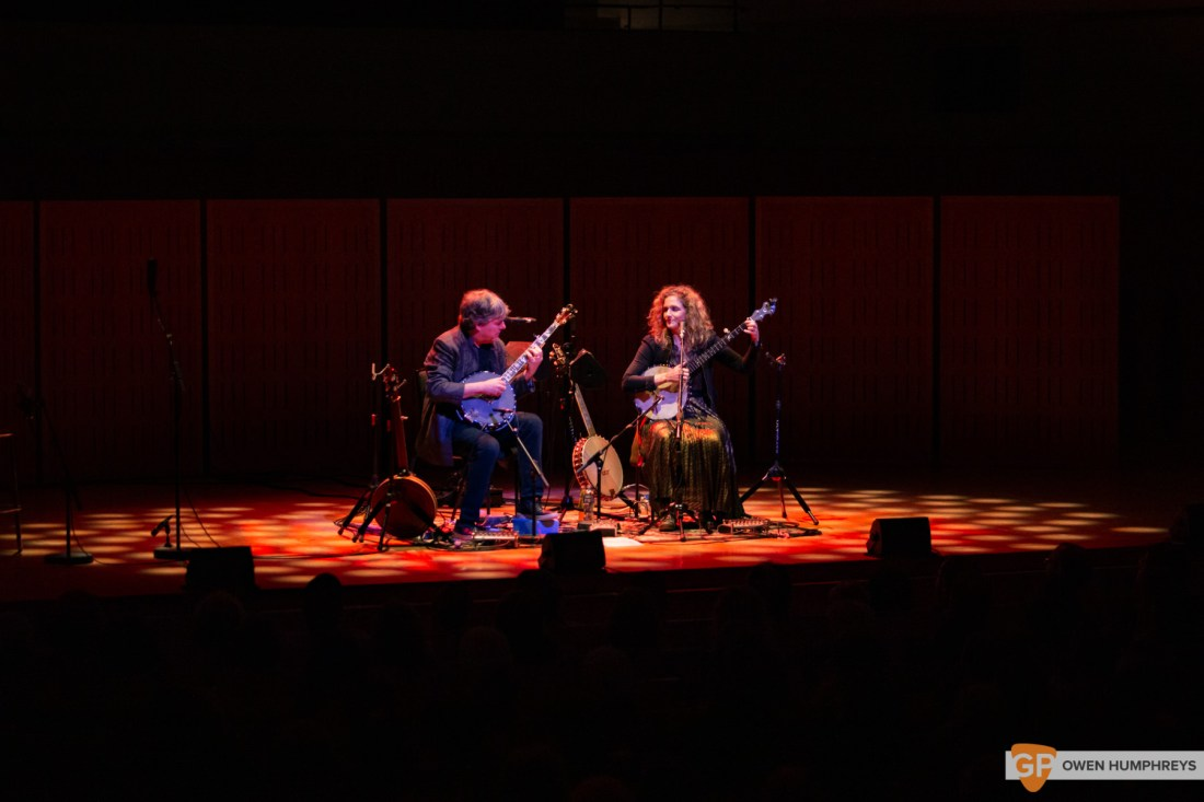 Bela Fleck & Abigail Washburn at The National Concert Hall. Photo by Owen Humphreys. www.owen.ie-5