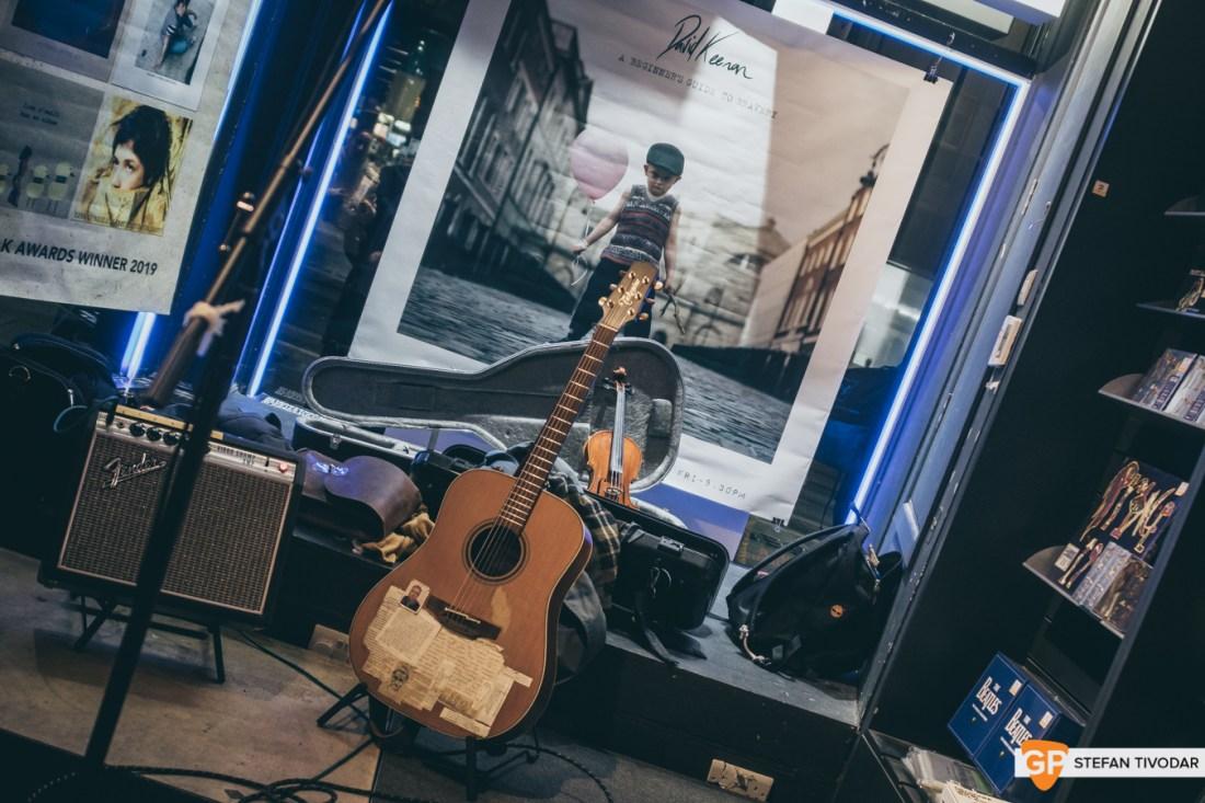 David Keenan Album Launch Tower Records Dublin 2020 Tivodar 4