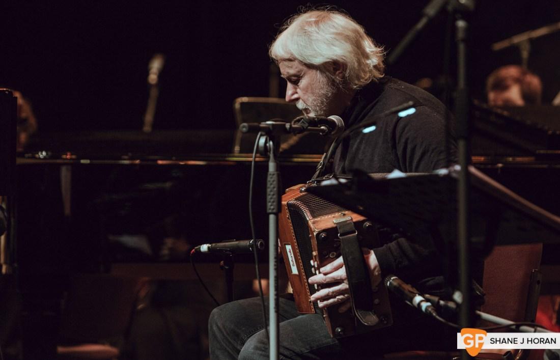 Donal Lunny, Mairtin O'Connor w- Cork Opera House Concert Orchestra, Cork Opera House, RHRN, Shane J Horan, Cork, 23-02-2020-3