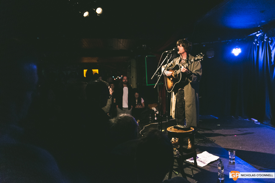 Fionn Regan performing in Whelan's to a sold out crowd. Photos by Nicholas O'Donnell. (7 of 15)
