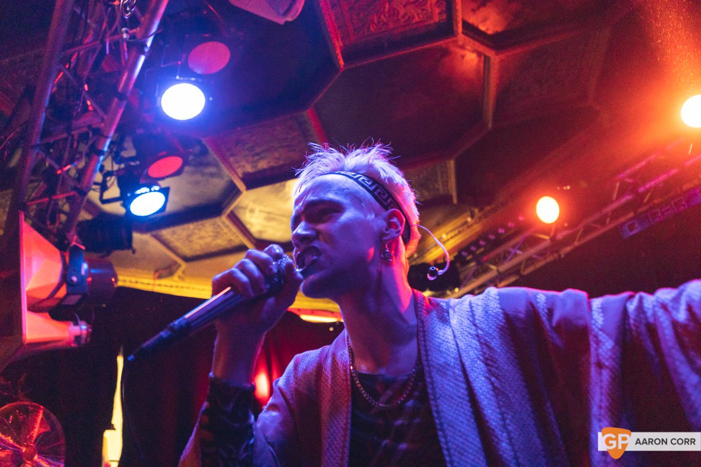 HMLTD live at The Sound House, Dublin on 17-Feb-20 by Aaron Corr-2175