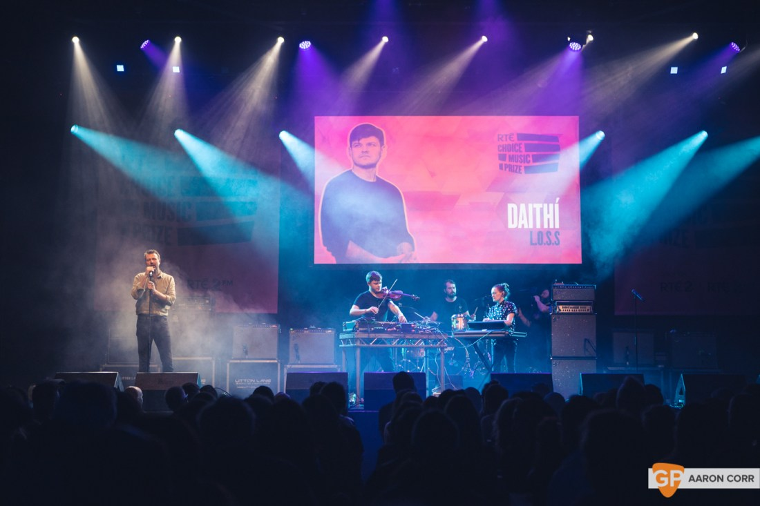 Daithi at Choice Music Prize 2020 in Vicar Street, Dublin on 05-Mar-20 by Aaron Corr-2644