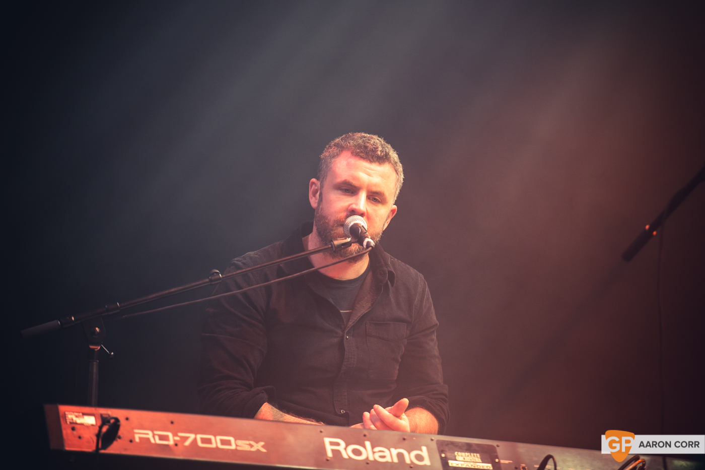 Mick Flannery at Choice Music Prize 2020 in Vicar Street, Dublin on 05-Mar-20 by Aaron Corr-5578