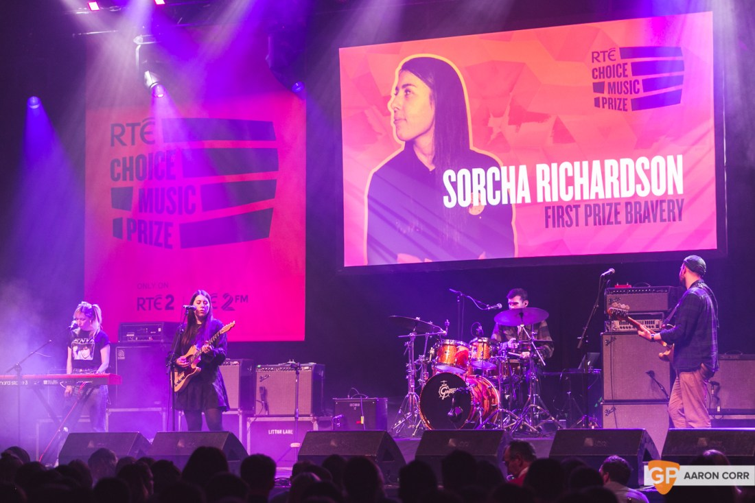 Sorcha Richardson at Choice Music Prize 2020 in Vicar Street, Dublin on 05-Mar-20 by Aaron Corr-5281