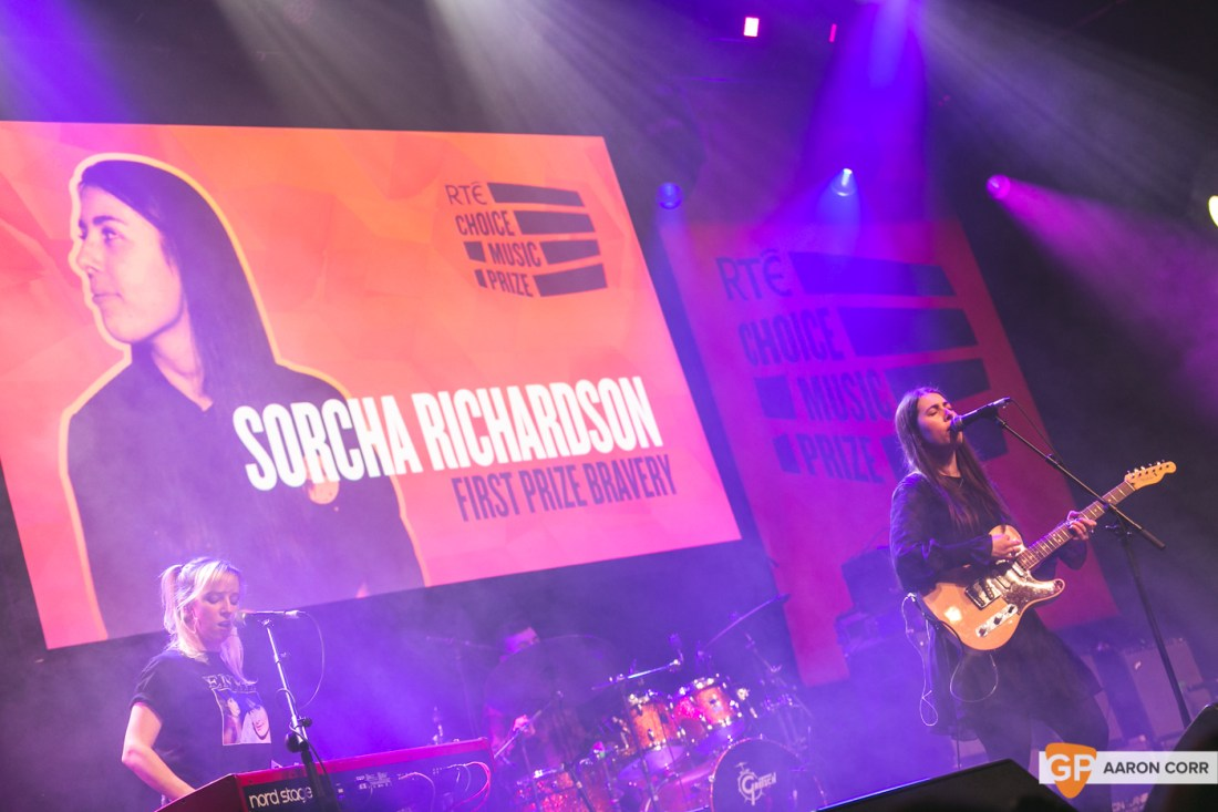 Sorcha Richardson at Choice Music Prize 2020 in Vicar Street, Dublin on 05-Mar-20 by Aaron Corr-5299