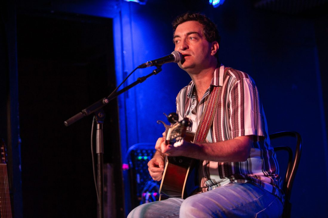 Ultan Conlon at the Workman's Club. Photo by Owen Humphreys. www.owen.ie