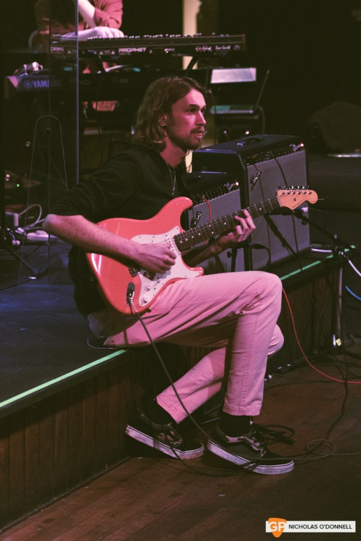Max Zaska performing at GoldenPlec Jam Session. Photo by Nicholas O'Donnell