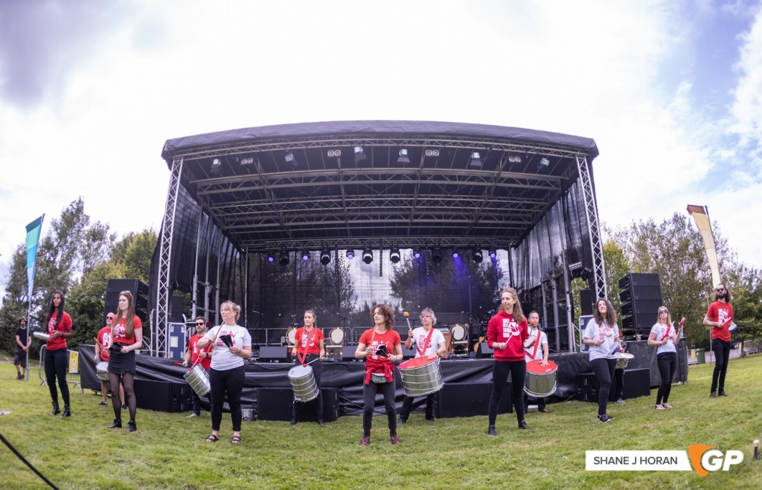 Cork City Samba Band, The Great Beyond Festival, Ballinacurra House, Cork, Shane J Horan, 11-09-21 -1