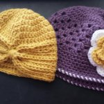 Baby Turban Hat and McKinley Springtime Hat