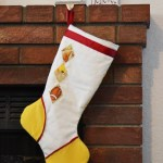 E & E Inspired Argyle Stocking
