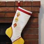 E & E Inspired Argyle Stocking