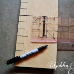 Easy $3 DIY Wooden Growth Chart