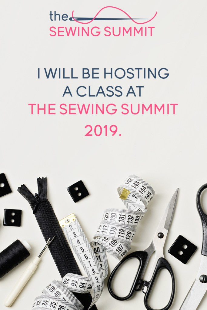 hosting a class at sewing summit online