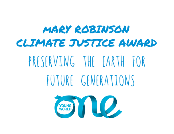 Mary Robinson Climate Justice Award 2020 (Fully-funded to One Young World Conference 2021 in Munich, Germany)
