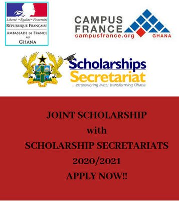 Embassy of France Masters and PhD Scholarship