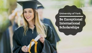 Be Exceptional international awards at University of York, UK