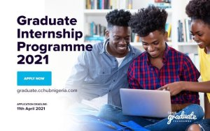 CcHub Graduate Programme 2021 for young Nigerians