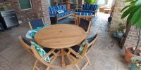 Set of Teak Deep Seating Club Chair , Love Seat & Sofa ...