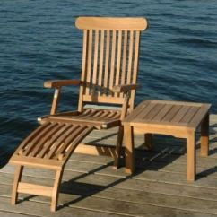 Teak Steamer Chair Patio Rocking Chairs Premium And Brass Cushions Available 5 Fantastic Price