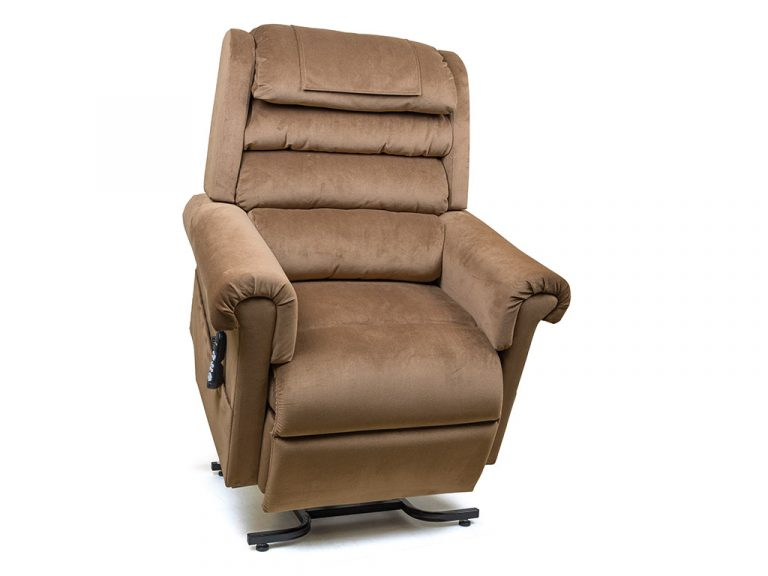 Motorized Chair  Relaxer PR756  Golden
