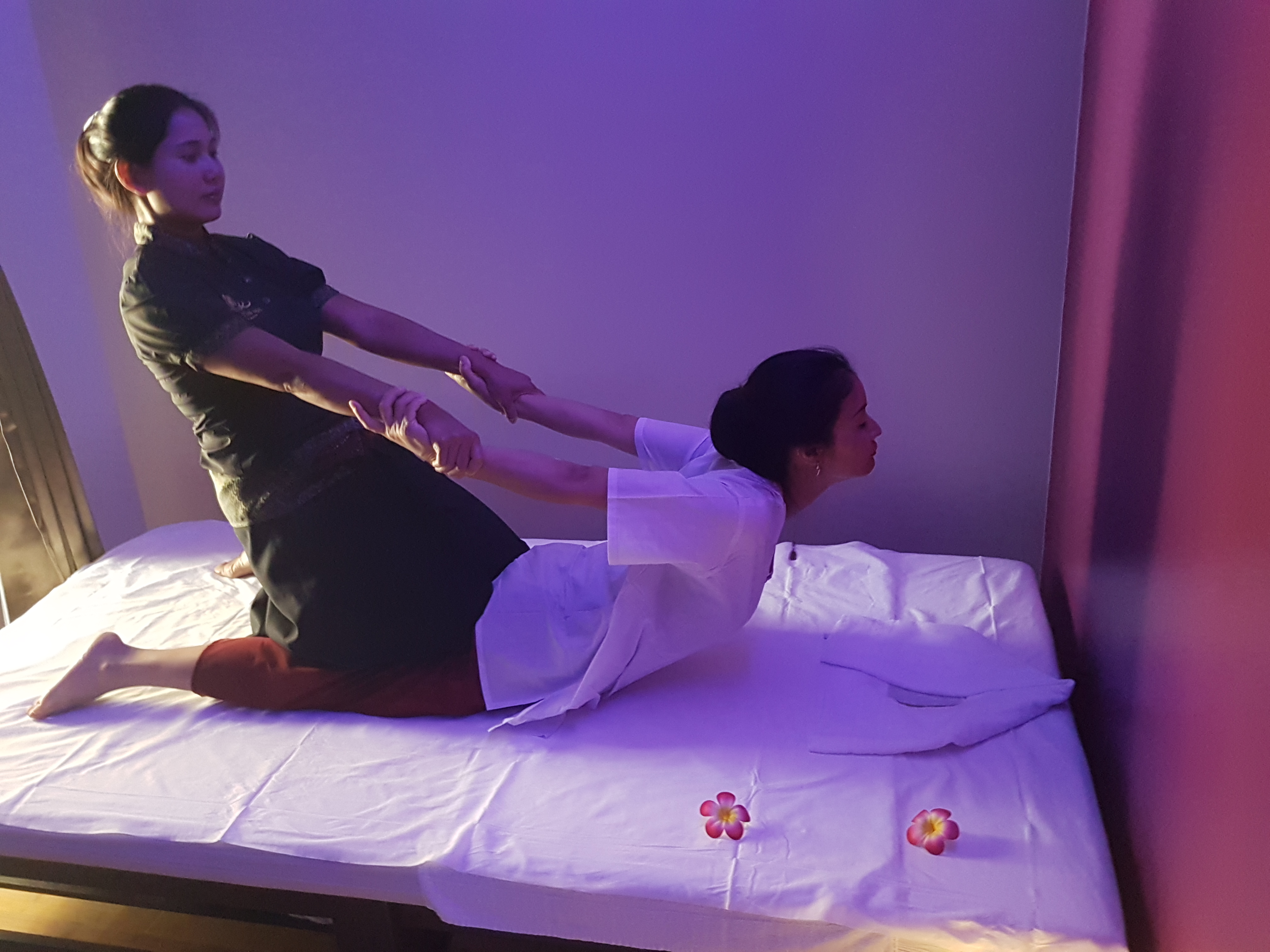 Déroulement d'un Massage Thai au Golden Thai Spa